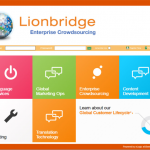 LMS Branding Example - Lionbridge