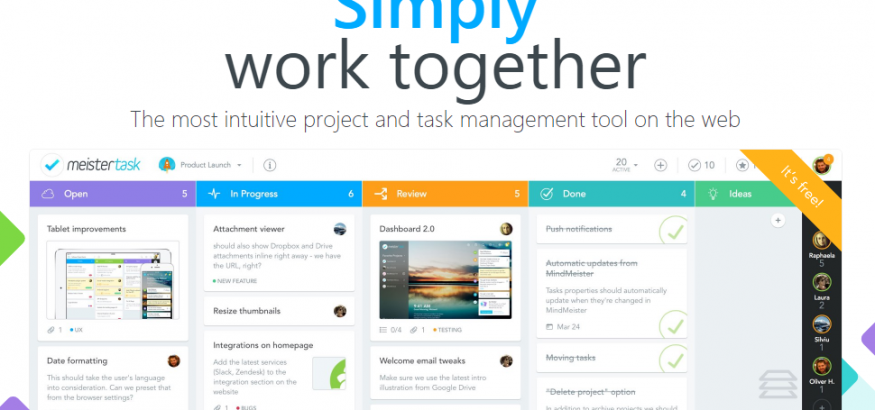 MeisterTask is a gem in the world of project management tools, and the free  version allows unlimited users and projects in the system. Unlike other free  ...