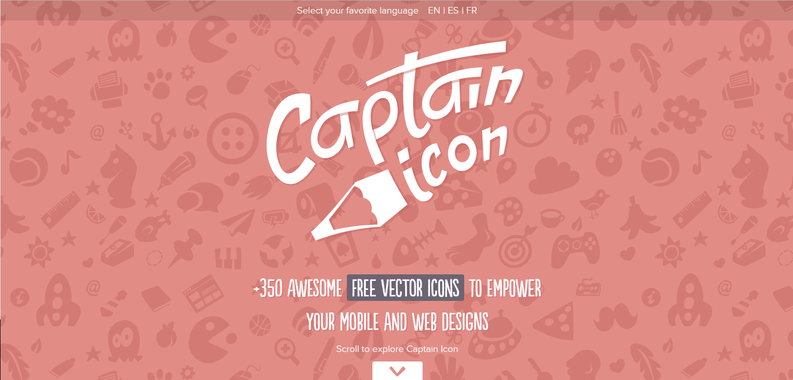 Screen capture of Captain Icon