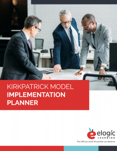 Kirkpatrick Model Implementation Planner_Cover