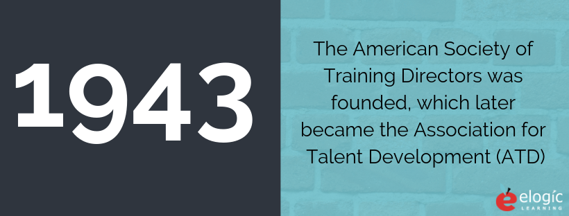 ATD was formed in 1943