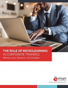 The Role of Microlearning in Corporate Training Guide Cover