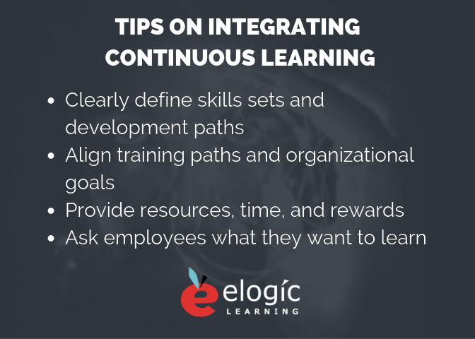 tips on integrating continuous learning