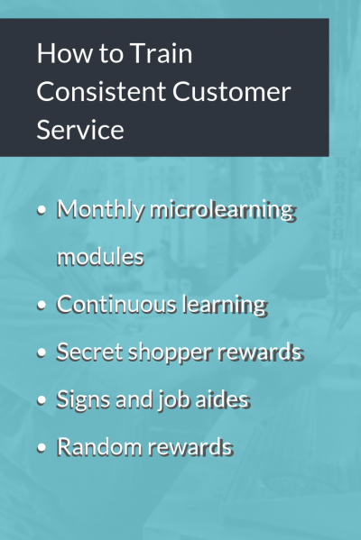 How to Train Consistent Customer Service