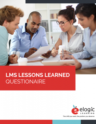 LMS Lessons Learned Template Portrait-Style Cover