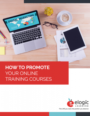 Promote Online Training Portrait-Style Cover