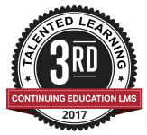 Talented Learning Award_Continuing Ed LMS_3rd