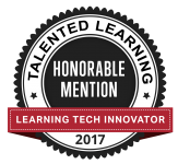 Talented Learning LMS Award_ innovator_Honorable